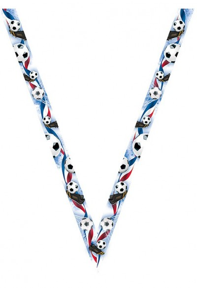 Ruban Football Médaille - 7073